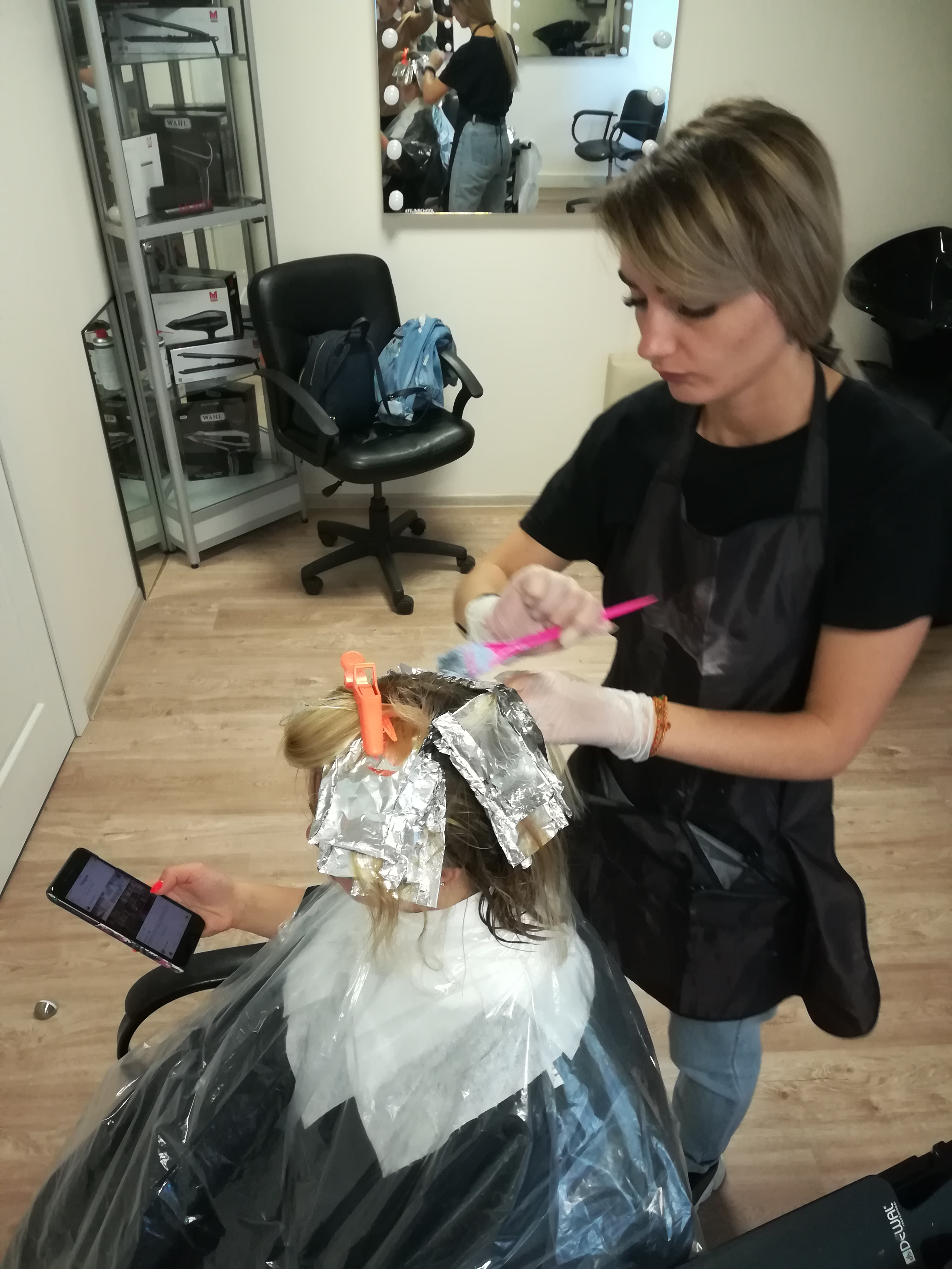 Работа модели для парикмахеров девушка модель методической работы учителей